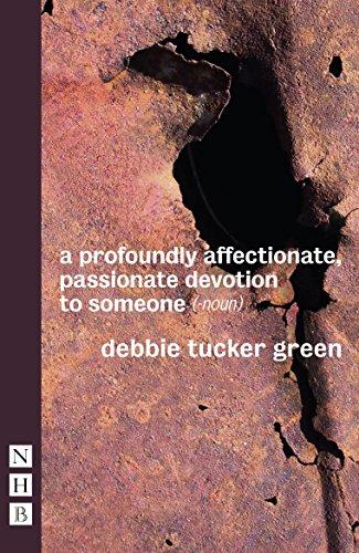 a profoundly affectionate, passionate devotion to someone (-noun) (A Profoundly Affectionate Passionate Devotion To Someone)