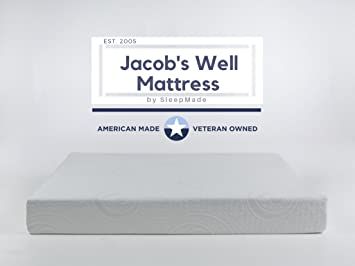 Amazoncom Jacobs Well Mattress Made in the USA Cal King 10 GEL
