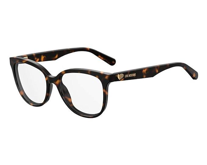 nuovo concetto 02677 5851c Moschino montatura occhiali da vista MOL509: Amazon.it ...