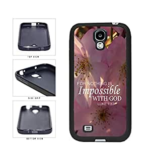 Impossible TPU RUBBER SILICONE Phone Case Back Cover Samsung Galaxy S4 I9500