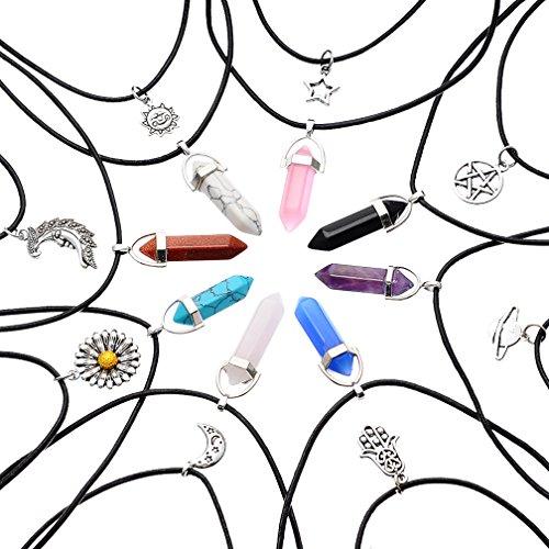 MJARTORIA Infinite Leather Multilayer Necklace product image