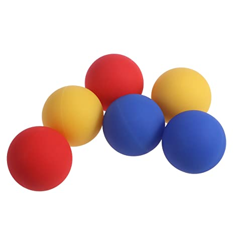 Amazon.com: VORCOOL 6pcs Massage Lacrosse Balls for Fitness ...