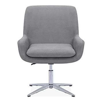 Pleasing Cult Living Cromwell Swivel Lounge Chair Fabric Upholstered Ibusinesslaw Wood Chair Design Ideas Ibusinesslaworg