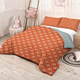 HELLOLEON Geometric Extra Large Quilt Cover Half