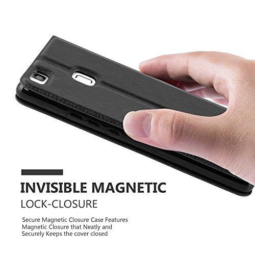 Cadorabo - Funda Book Style de Cuero Sintético en Diseño View para Huawei P9 LITE con Imán Invisible. Función de Soporte y Doble Ventana
