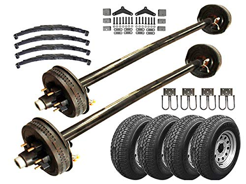 5.2k Heavy Duty Tandem Axle TK Trailer kit - 10,400 lb Capacity (73