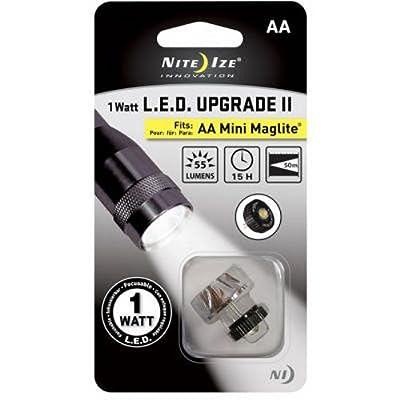 1 Watt LED Upgrade II, Fits AA Mini Maglite