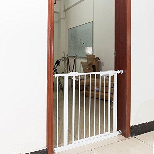 Azadx Pet Gate, Indoor Portable Pet Dog Cat Fence, Baby ...