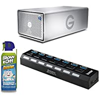 G-Technology G-RAID with Thunderbolt Dual Drive Storage 16TB 0G04097 Bundle