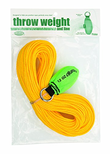 Weaver Leather Throw Weight and Line Kit, Green, 12 (Arborist Throw Line)