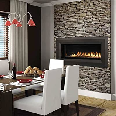 """43"""" Natural Gas Electronic Ignition Linear Outdoor Vent-Free Fireplace"""