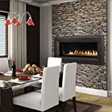 43'' Natural Gas Electronic Ignition Linear Outdoor Vent-Free Fireplace