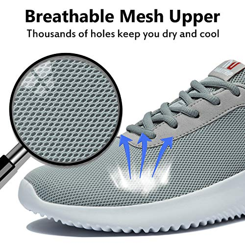 MAIITRIP Men's Walking Shoes,Comfortable Breathable Mesh Sneakers(Size US7-US14)