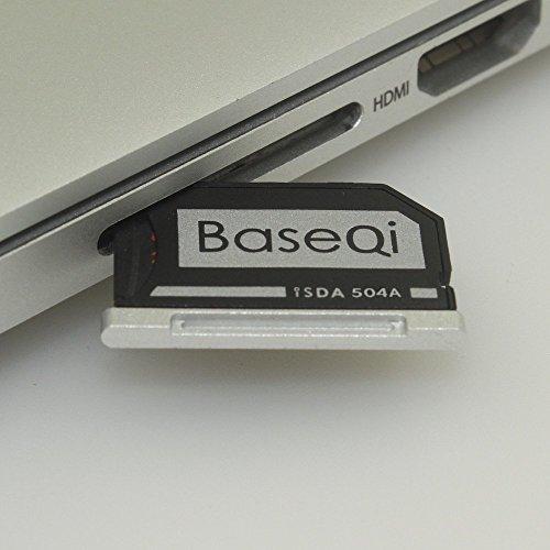 BASEQI aluminum microSD Adapter MacBook