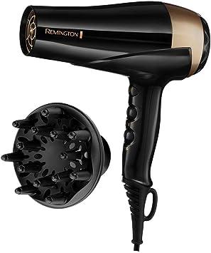 Remington D6092DS Sèche Cheveux 2200W Ionique Eclat Protect, Sublime l'Eclat des Cheveux Naturels