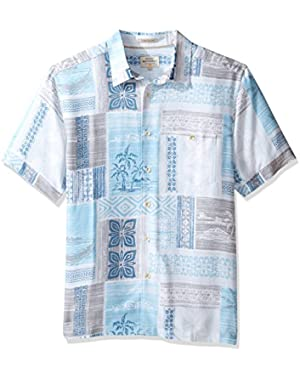 Waterman Men's Tropic Beats Woven Top!