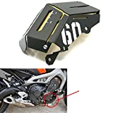 Alpha Rider Black Gold Radiator Side Cover Water Coolant Resevoir Tank Grill Guard Protective Cover For YAMAHA MT-09 FZ-09 FZ-9 2014 2015 2016