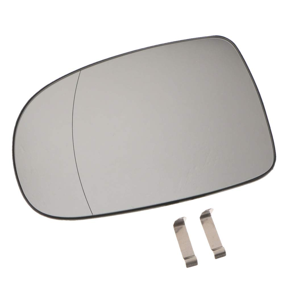 Replacement Left Side Mirror Glass HEATED for VAUXHALL CORSA C perfk New