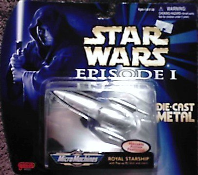 - Star Wars - Episode 1 - Royal Starship - Micro Machines - Die Cast Metal - Limited Edition