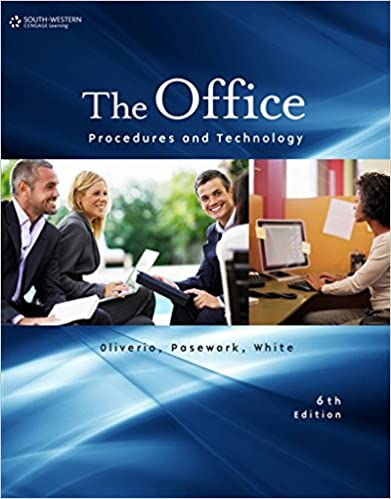 Amazon the office procedures and technology 9781111574352 the office procedures and technology 6th edition fandeluxe Images
