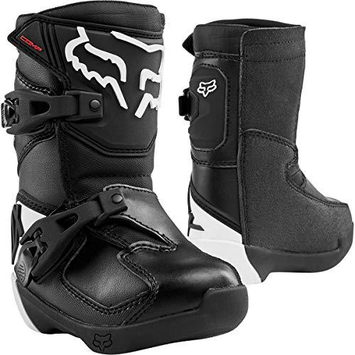 Fox Racing 2020 Peewee Comp Boots (10) (Black)