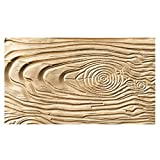 NY Cake Fondant Impression Mat, Wood Grain- Silicone
