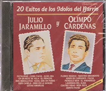 """Julio Jaramillo - Olimpo Cardenas """"20 ..."""