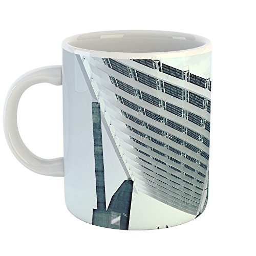 Westlake Art - Building Solar - 11oz Coffee Cup Mug - Modern Picture Photography Artwork Home Office Birthday Gift - 11 Ounce (36CE-B7147) by Westlake Art