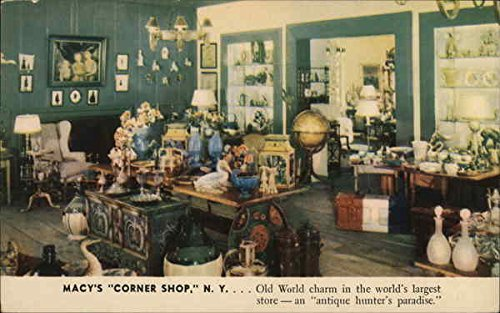 Macy's Corner Shop New York, New York Original Vintage - Shop Macy's