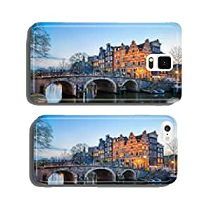 Sunset in Amsterdam, Netherlands cell phone cover case Samsung S6