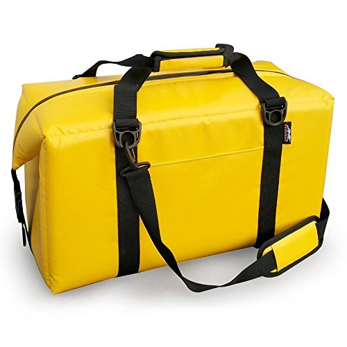 Vinyl Record Final Scratch (Leopard Outdoor Water Repellent Vinyl Soft Cooler Bag, Perfect for Camping, Fishing, Hiking or Outdoor Picnic, 24 Can Yellow)