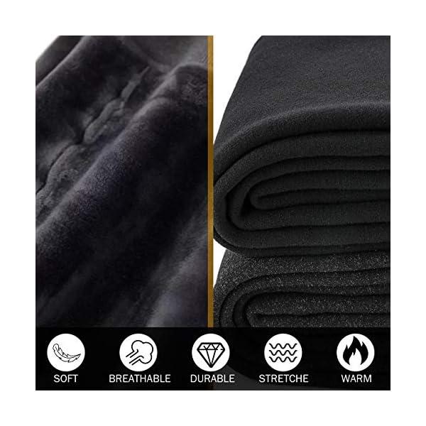 Hotelvs Legging Chaud Femme Hiver, Collants Leggings Thermique Épais Velours Doublure Extensible Pantalon
