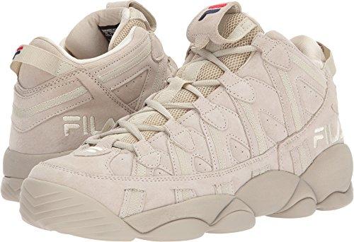 Fila Mens Spaghetti Hightop Basketbalschoenen Sneakers Fila Crème / Fila Navy / Fila Rood