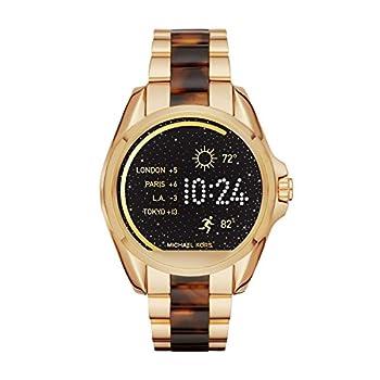 Michael Kors Access Touchscreen Gold Acetate Bradshaw Smartwatch Mkt5003 7