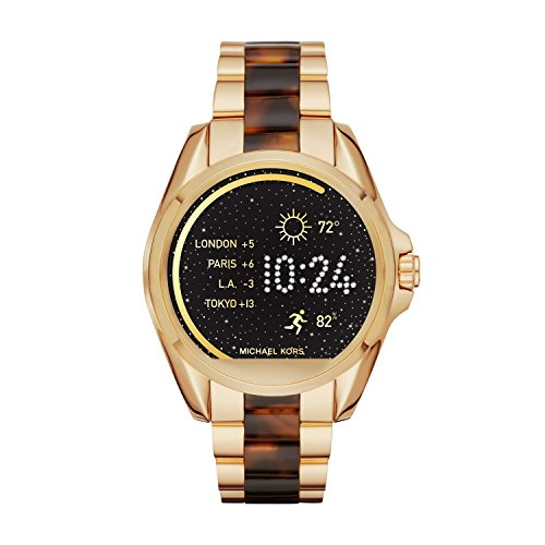 Large Product Image of Michael Kors Access Touchscreen Gold Acetate Bradshaw Smartwatch MKT5003