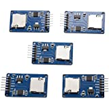 CHENBO 5Pcs Micro SD Storage Expansion Board Mciro SD TF Card Memory Shield Module SPI For Arduino