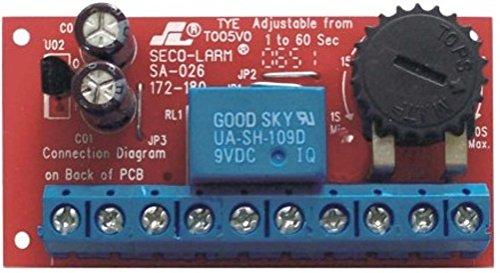 - Seco-Larm SA-026Q Enforcer Low-Voltage Miniature Delay Timer Module