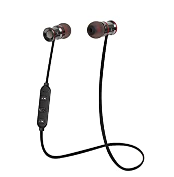 Auriculares Bluetooth, SOCINY Auriculares inalámbricos, Bluetooth 4.1 Magnetoscopios estéreo inalámbricos magnéticos con un peso