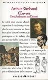 Rimbaud : Oeuvres par Rimbaud