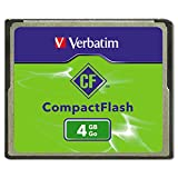 Verbatim 95188 CompactFlash Memory Card, Class 4, 4GB