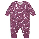 Grow by Gerber Baby Girls Organic 3-Pack Coverall