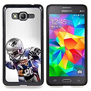 """Qstar Arte & diseño plástico duro Fundas Cover Cubre Hard Case Cover para Samsung Galaxy Grand Prime G530H / DS (Patriota Fútbol"""")"""