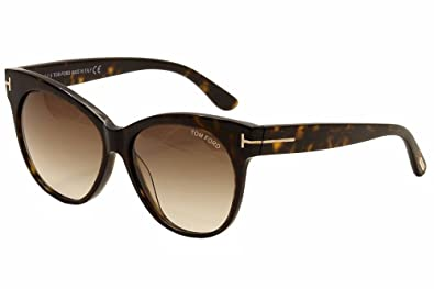 de22747e08a9 Amazon.com  TOM FORD Sunglasses FT0330 56F Havana 57MM  Shoes