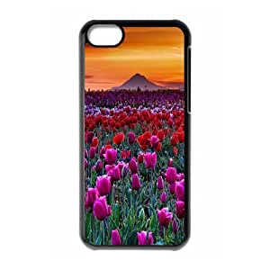 JamesBagg Phone case tulip pattern For Iphone 5c FHYY418804