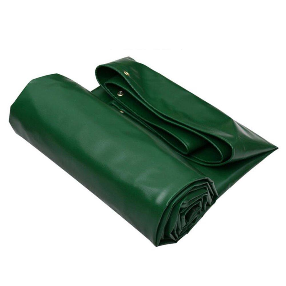 LIXIONG オーニング サンシェード雨布 防水日よけ 防塵 厚い PVC オイルクロス トラックシェッドクロス グリーン、 厚さ0.7mm、 -650g / m 2、 9サイズ (サイズ さいず : 4x5m) B07C27TVFQ  4x5m