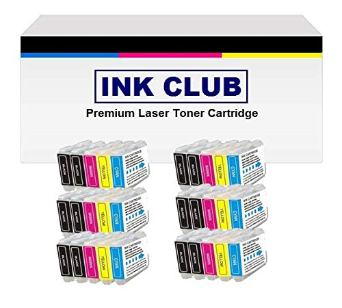 Inkcool Compatible with Brother LC 51 LC-51 LC51 Ink Cartridge 30 pack- 12 Black/6 Cyan/ 6 Magenta/ 6 Yellow