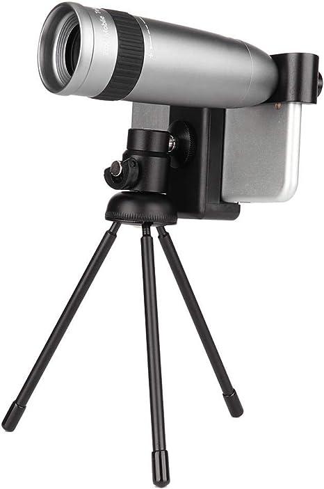Tosuny LIEQI Telescopio para Smartphone, 20X Telescopio Monocular ...