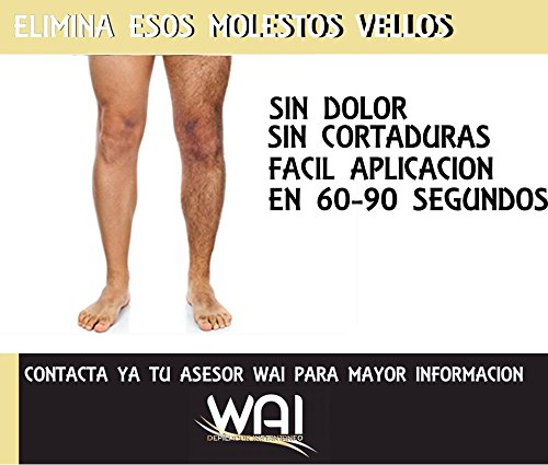 Amazon.com : WAI Depilador Instantaneo Epilator (Roll-on 2oz-60ml) : Beauty