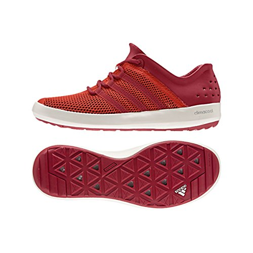 Adidas Climacool Boat Pure Shoe - Men's Bold Orange / Power Red ...