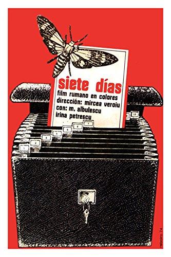 """24""""x36""""Motion picture Poster.Romanian film by Mircea Veroiu.Seven Days.wasp.Albulescu.Irina Petrescu.6865"""
